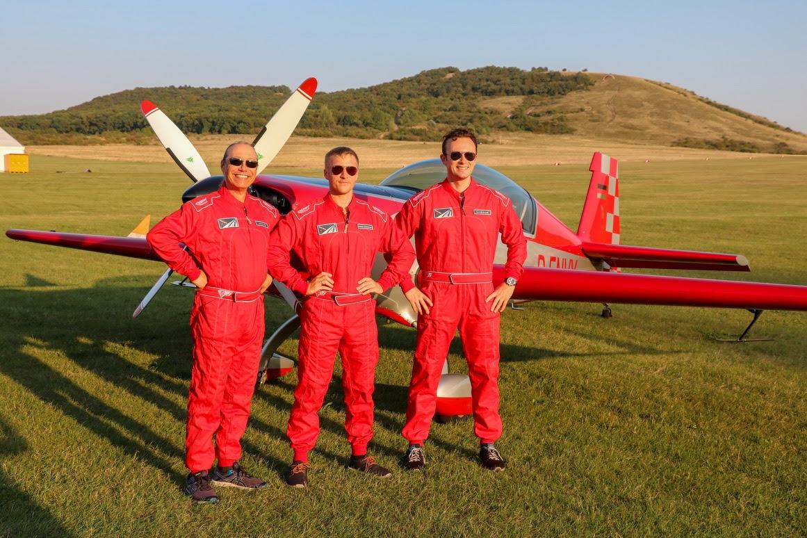 3fly Aerobatic Team bei den Kunstflugmeisterschaften